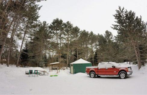 Mew Lake Winter Yurt