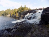 High Falls in the Muskoka Lakes - RV Destination