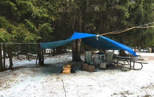 Winter camping 101: Front Country
