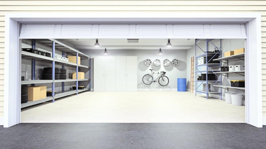 white-garage-door