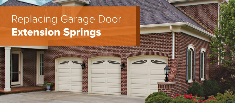 Garage Door Springs Replacement