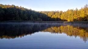 Early morning at Glen Haffy.