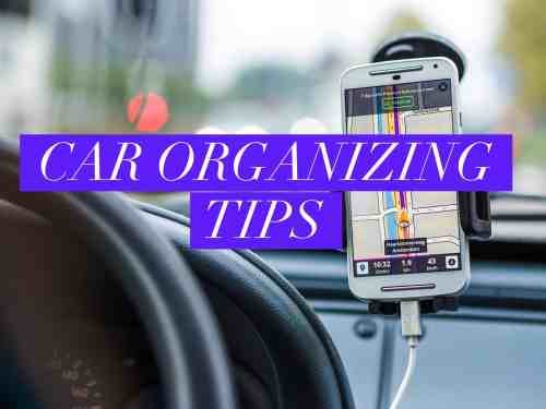 car organizing tips title