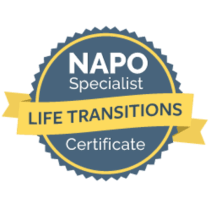 NAPO Specialist Life Transitions Badge