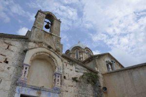 Kerk in het achterland van Karystos Zuid Evia Griekenland
