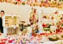 La féerie de Noël s'installe à Chaalis