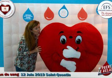 On a (encore) donné notre sang à Saint-Quentin
