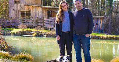 Une cabane écolo au coeur du domaine viticole de Stéphanie et Julien