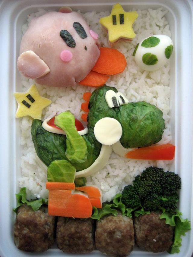الابداع في تقديم الاطعمة للأطفال 7