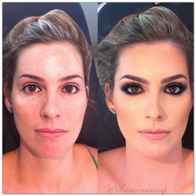 صور مذهلة قبل وبعد المكياج لخبير التجميل البرازيلي Alcantara 9