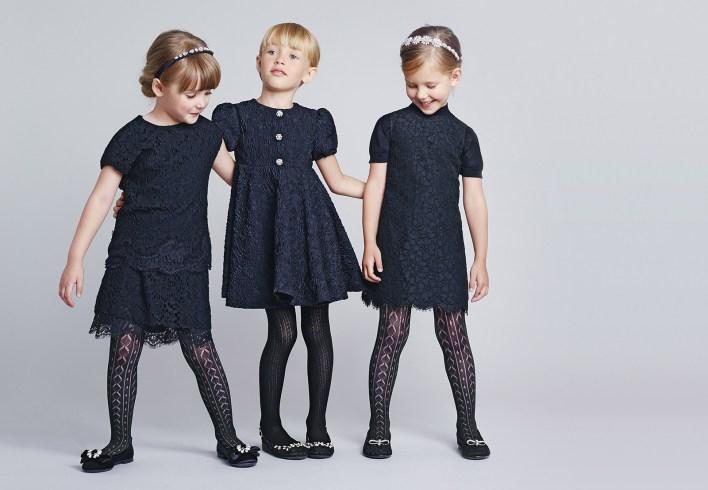 فساتين بنات مميزة كحلية اللون من دولتشي أند جابانا (5)