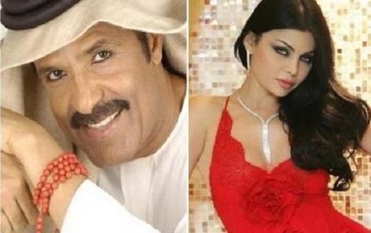 عبد الله بالخير يتقدم لخطبة هيفاء وهبي و يعدها بزفاف اسطوري