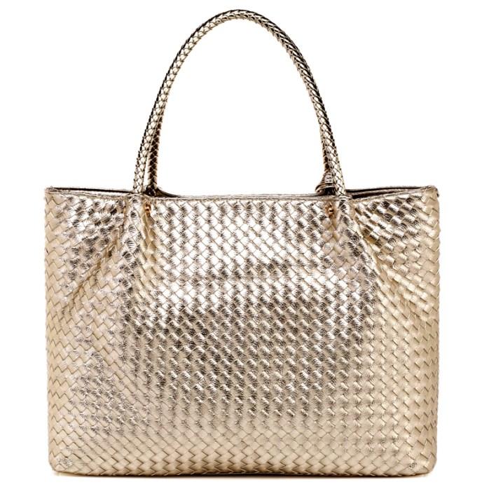 حقيبة الرفاهية بدمج من الفضي و الذهبي سوياً ! (3)