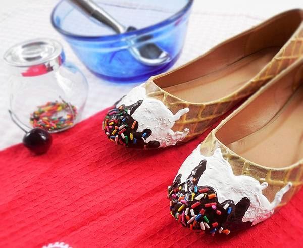 حلويات على شكل احذية 5