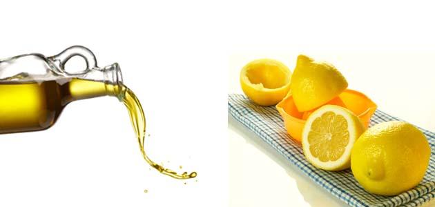 ماسك زيت الزيتون و الليمون