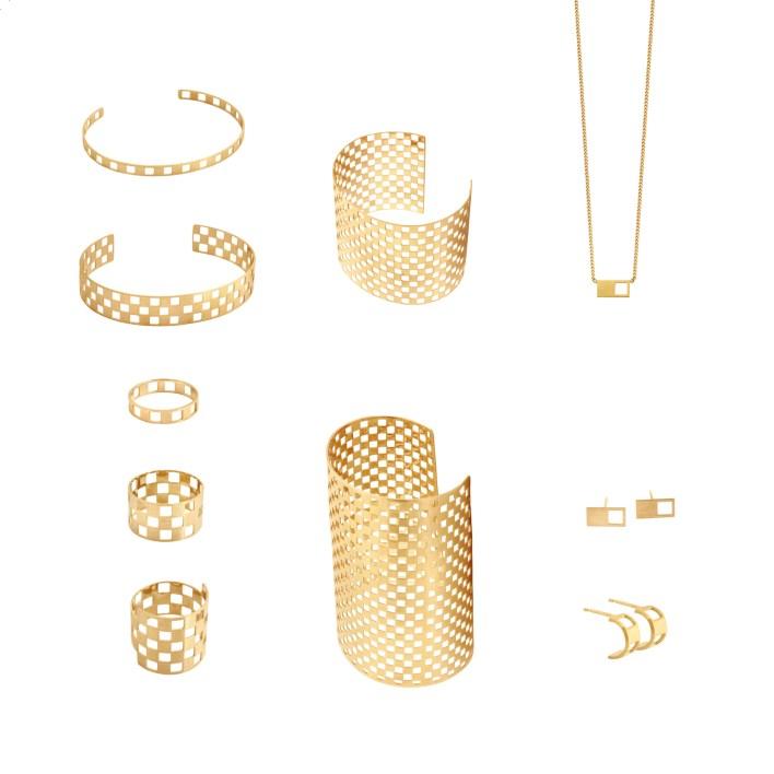 مجوهرات شطرنجية من Charlet par Aime