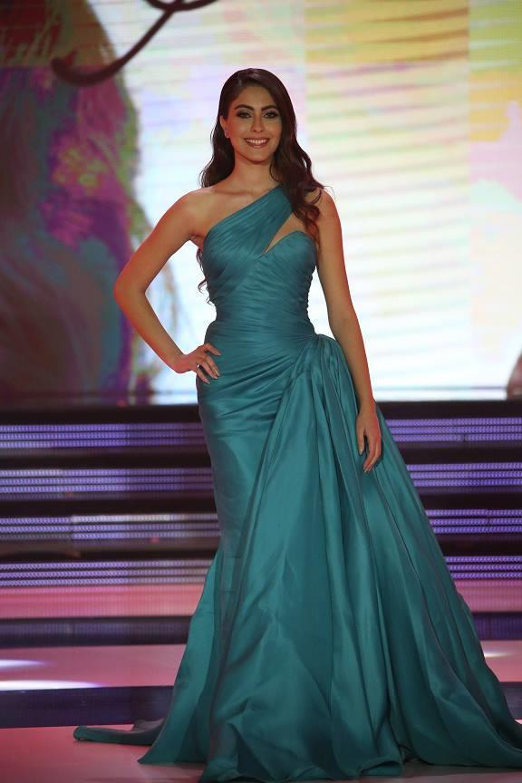 ملكة جمال لبنان 2014 سالي جريج.