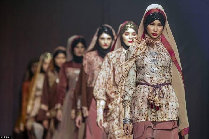 أزياء اسلامية