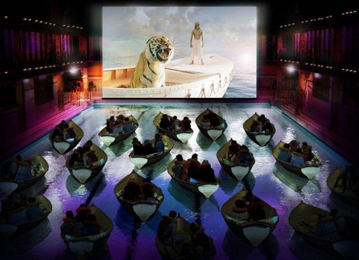 مسرح الأفلام في باريس