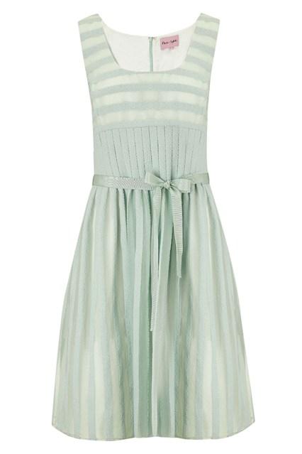 فستان قصير باللون الرمادي