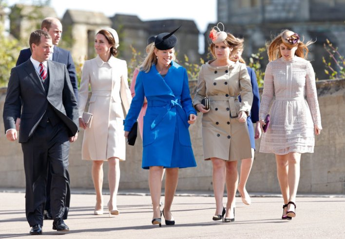 كيت ميدلتون وعائلتها تجتمع في غذاء الملكة السنوي بإطلالة مختلفة