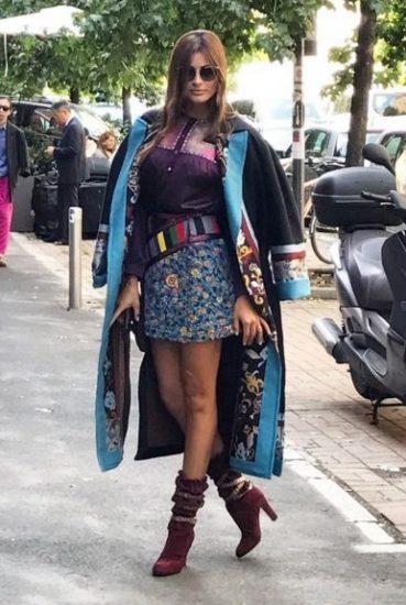 أسبوع الموضة : إطلالات النساء العربيات في ميلانو بين الغرابة والأناقة