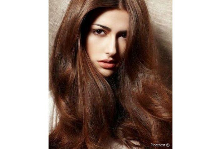 صبغات الشعر البني البندقي هي ألوان هذا الخريف تعرفي إليها من خلال الصور