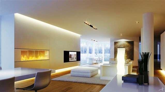 تضفي اضاءة الليد على ديكور منزلك المزيد من الاشراق والحداثة خصوصاً عند استخدام أحدث الافكار والطرق