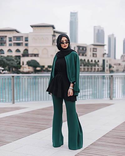 مدونة الموضة سهى  - ملابس محجبات - مدونات محجبات - موضة المحجبات 2018