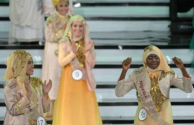 صور لمسابقة ملكة جمال العالم الإسلامي