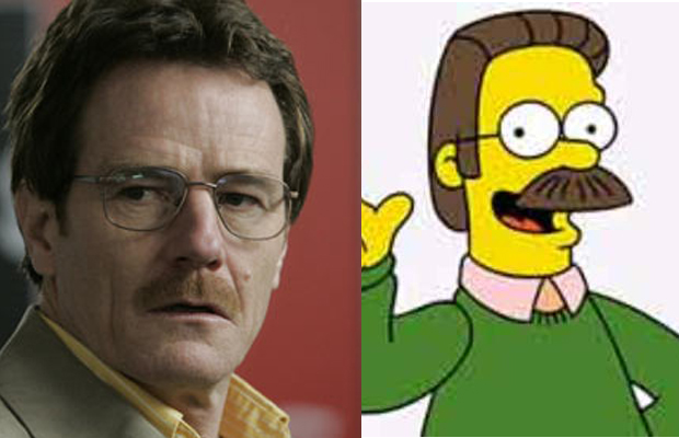 Bryan Cranston - Ned Flanders, The Simpsons