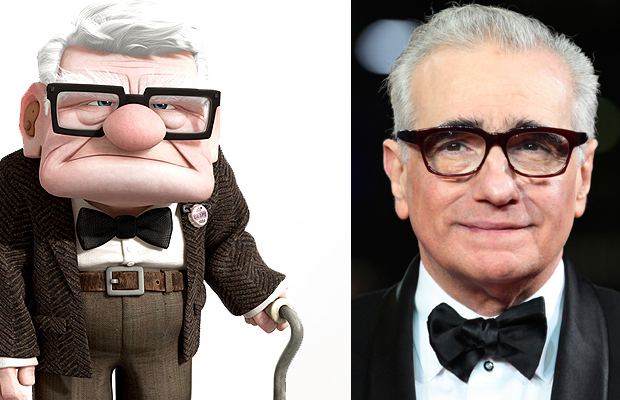 Martin Scorsese - Carl Fredricksen, Up