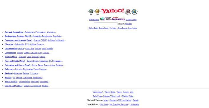 Yahoo.com (1995)