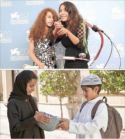 """ترشيح فيلم """"وجدة """" للدخول في مسابقة الأوسكار يعد الأول في تاريخ السينما السعودية"""