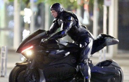 The OMNICORP 2027 CES Keynote Presentation for RoboCop