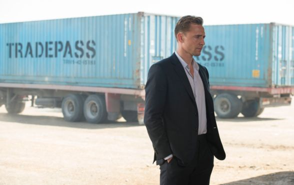 Jonathan Pine (Tom Hiddleston) in The Night Manager