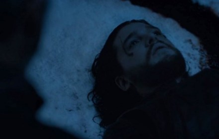 Jon Snow's bloody end in Game of Thrones