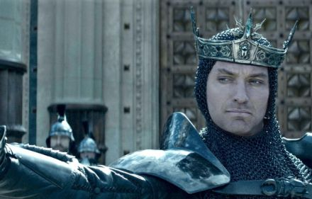 Jude Law as Vortigern in King Arthur - Legend of the Sword