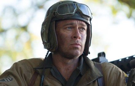Brad Pitt as Wardaddy in Fury