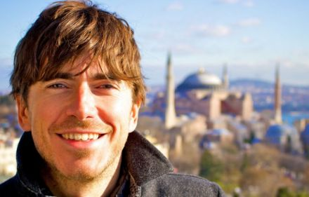 Q&A with Simon Reeve