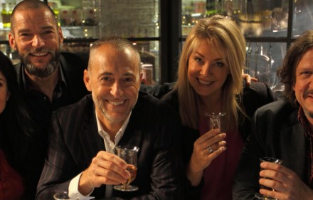 Stacie Stuart, Fred Sirieix, Michel Roux, Lucy Alexander and Jay Rayner.