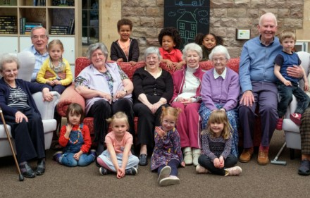 ld People's Home For 4 Year Olds - Group