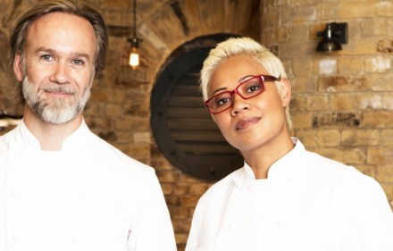 Marcus Wareing and Monica Galetti,