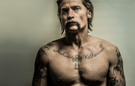 Nikolaj Coster-Waldau in Shot Caller. Photo: Scott Garfield.