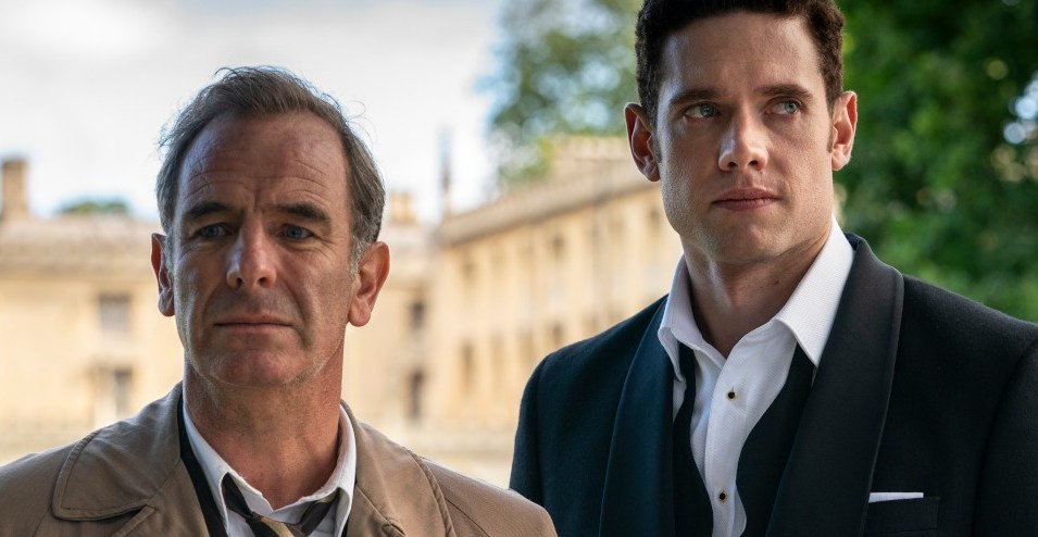 Grantchester - Robson Green and Tom Brittney