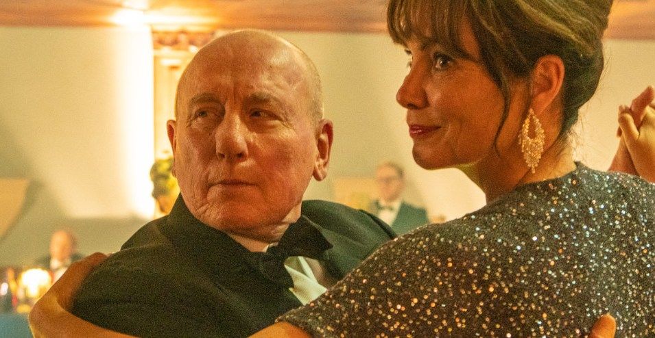 Christopher Timothy and Sarah Dolman in Midsomer Murders