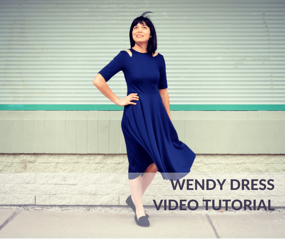 The Wendy Dress Pdf Sewing Pattern And Video Tutorial