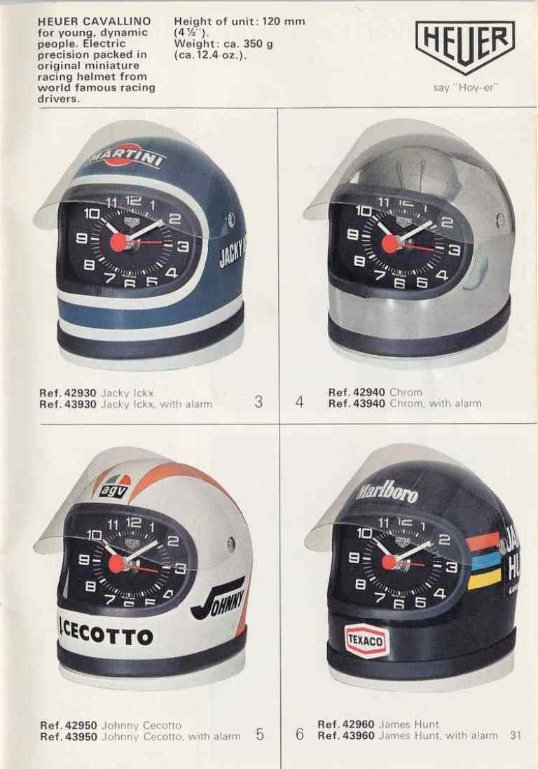 The Quartz Watch Revolution Home Of Tag Heuer Collectors Timer From Old Clock Electronics For You Spaceage Technology Beautiful Design Decide Yourself Same 1977 Catalogue Also Shows Cavallino Series Desktop Clocks In Replicas