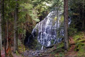 georgia mountain waterfall