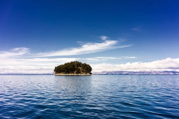 Lake Titicaca is believed to be the birthplace of the sun and is the largest lake in South America. The lake shared with Peru is a vast stretch of glistening blues, the high altitude and dazzling sun enhancing lake's natural splendour. Photo credit: L S